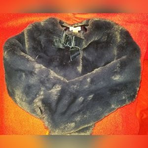 Girl's Faux Fur Coat